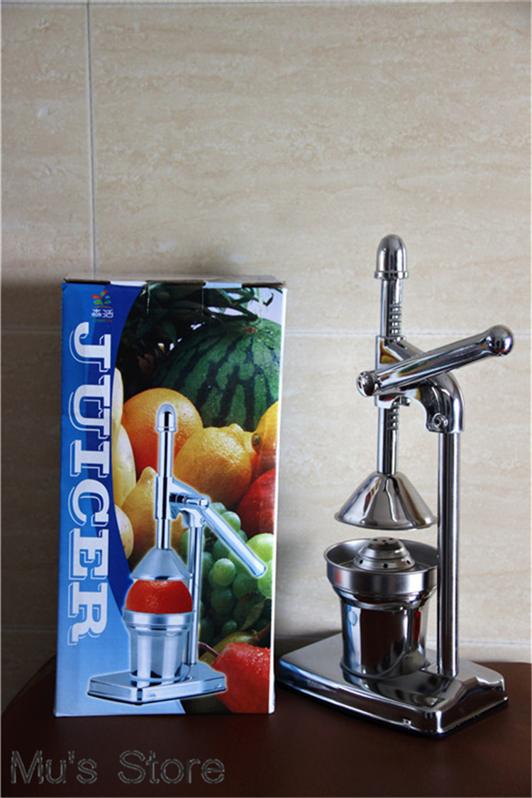 High Quality!!Hand Press Stainless Steel Manual Juicer Slow Juicer For Healthy Life, Juicer ...