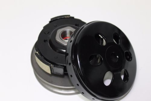 A modified high performance black PULLEY ASSY DRIVEN 1P52QMI 1P57QMJ font b GY6 b font 125