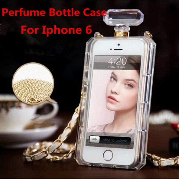 Luxury Perfume Bottle Case tpu Cover Iphone 7/7plus/6/6plus/5s/4 samsung galaxy s5/s6/s6edge/s7/s7edge/note3/note4/note5 - The Professional 3c Accessories trading company store