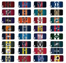 online custom new arrivals 32designs fhybrid retail NFL white phone hard cover cases for IPHONE 5 5s free ship
