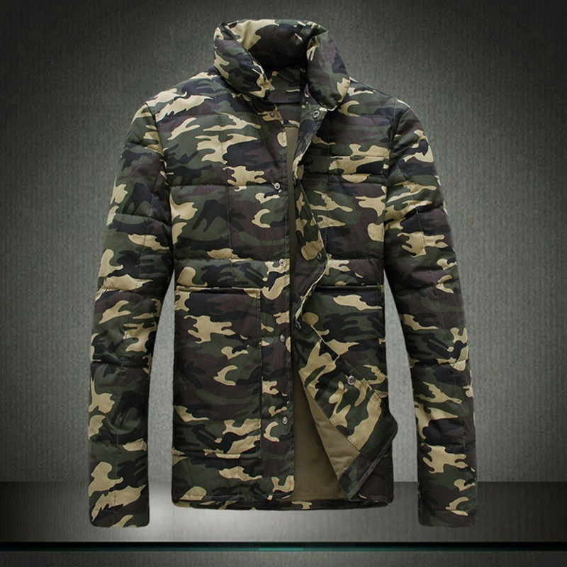 Hot-selling 2013 male outerwear wadded jacket fashion Camouflage series 8 thermal - Li Mrs's store