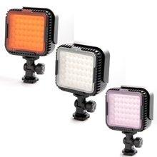 NanGuang CN-LUX480 Negro 2.9 W 330LM 5400/3200 K 48 unids Portable LED Luz de Vídeo