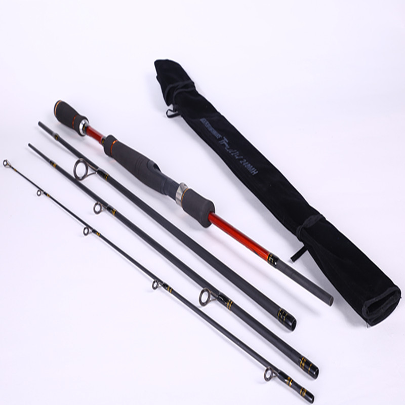 Carbon Fly Fishing Rod Telescopic Lure Sea Fishing Rods Spinning Pole Fishing Tackle Gear(China (Mainland))