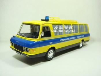 free shipping high quality Dea Soviet Union car model 1:43 Ambulance car lada model