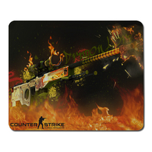 Flame background Cs Go mouse pad large pad to mouse notbook computer mousepad counter-strike game padmouse laptop gamer play mat(China (Mainland))