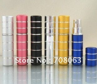 EMS Free Shipping 35pcs/lot 5ml perfume spray ,mist sprayer,travel refillable bottle ,perfume atomizer ,perfumes sprayer