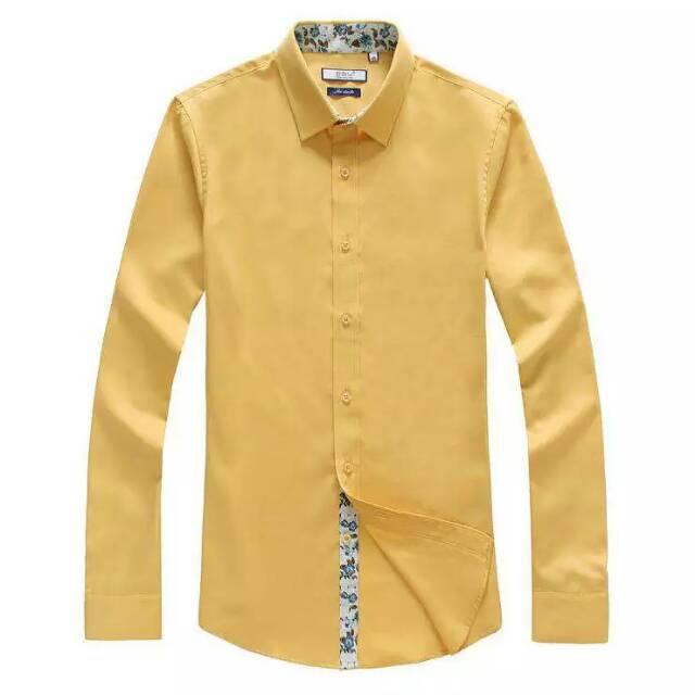Hot 2015 Korean Shirts Men