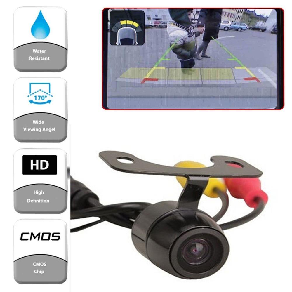 Universal Car Rear front view Camera Anti Fog Waterproof Car Rear View Reverse Camera Kit Backup Camera(China (Mainland))