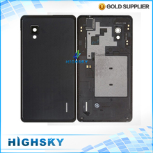 Black&white original new replacement parts for LG Optimus G F180 E975 back housing cover rear battery door 1 piece free shipping
