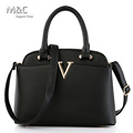 New 2016 Women Handbag Leather Bag for Women Messenger Bags Designer Handbag High Quality Top Handle