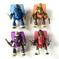 4Pcs Teenage Mutant Ninja Turtles TMNT Action Figures Toy Toys Classic Collection high quality