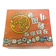 Jungle speed per 2-8 giocatore del gioco da tavolo treno osservazione e capacità di risposta party game istruzione inglese inviare da email(China (Mainland))