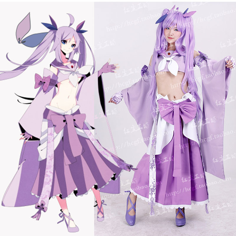 Anime Pokemon Espeon Cosplay Costume Pocket Monster Halloween Party Sexy Lolita Uniform Set - HangZhou BOBO Co., Ltd store