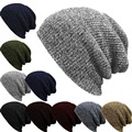 Men's Winter Hat Bonnet Beanies Knitted Winter Hat Caps Skullies Hat Female Winter For Men Beanie Warm Baggy Cap Wool Hat 2016