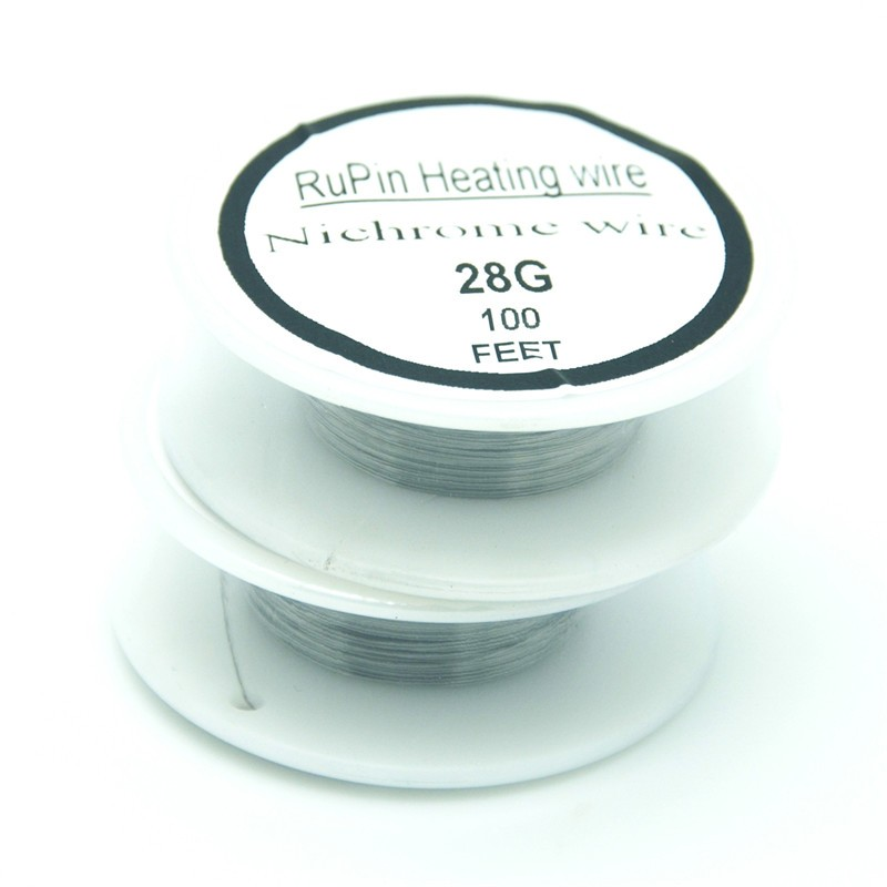 2018 Wholesale Rupin Heating Wrie Nichrome Wire 28 Gauge 100 Ft 0.32 ...
