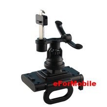 360 Degree Rotating Mobile Phone Holders Stand Car Air Vent Holder  For HTC One 2 M8 free shipping(China (Mainland))