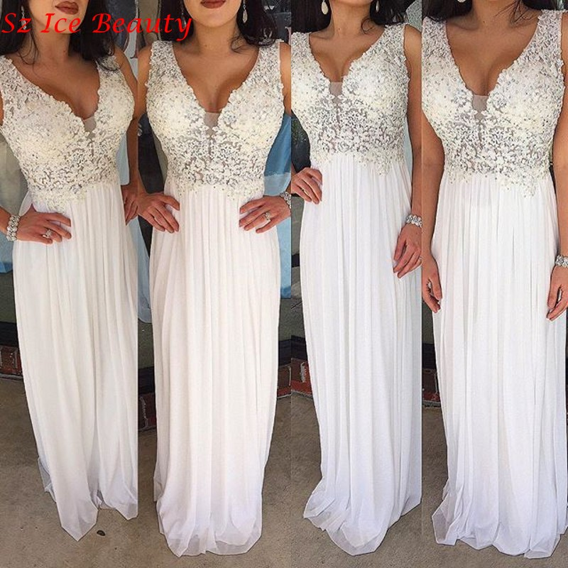 Amazing White Prom Dresses Under 100 Embellishment - Wedding Dress ...