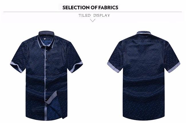 2016 новый бренд мужские рубашки с коротким рукавом свободного покроя мужчин уменьшают подходящие марка дизайн формальные рубашки Camisa социальной сорочка homme