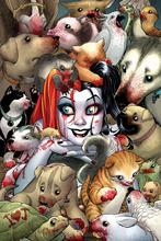 "Buy Harley Quinn Batman Arkham City Fabric poster 36"" x 24"" 28"" x 18"" 20"" x 13""Decor --030 for $4.63 in AliExpress store"