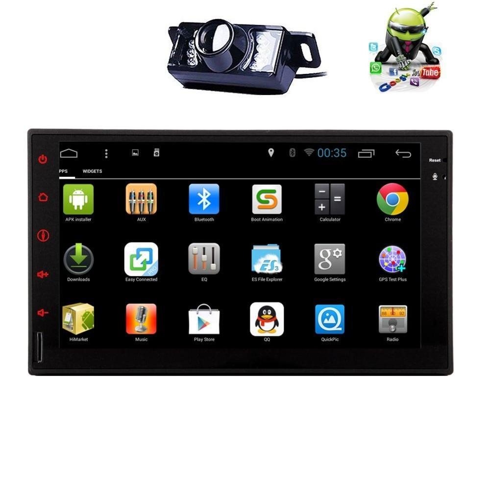 Android 4.4 Car GPS Navigation Player Double Din In Dash AM FM Auto Radio Blutooth/Mp3/mp4/Wifi GPS Navigation Car Stereo(China (Mainland))