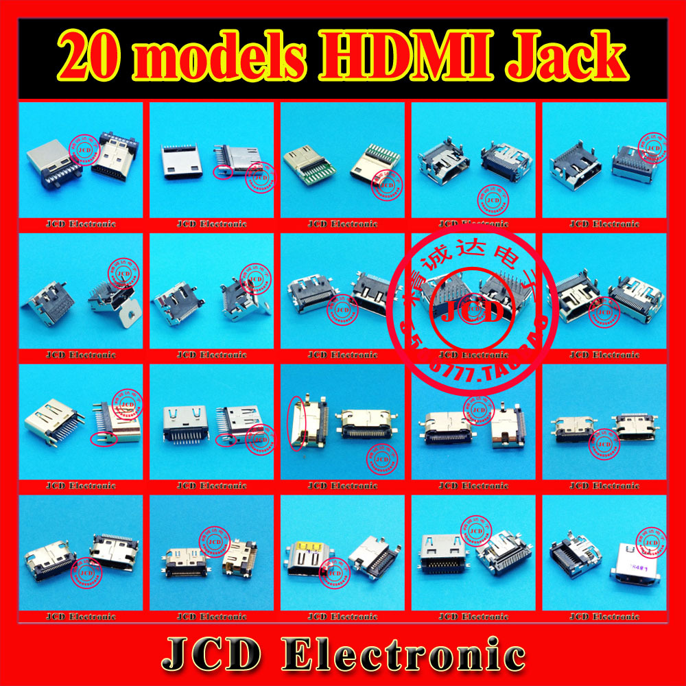HDMI Jack 19-pin for tablet pc mobile phone laptop notebook 20models 19P hdmi connector(China (Mainland))