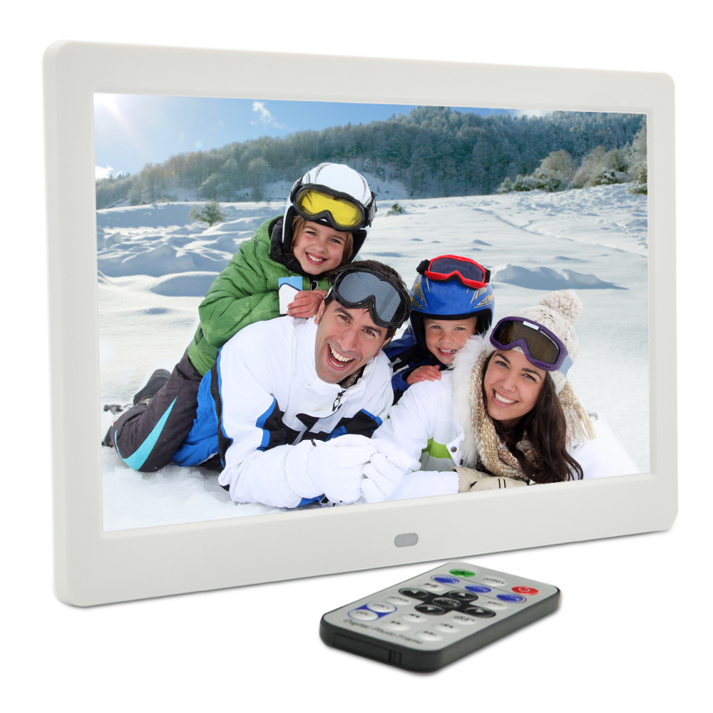 """10.1"""" inch LED 1024*600 Remote Control HD Digital Photo Frame High Resolution Full-view picture display MP3 MP4 Movie Player(China (Mainland))"""
