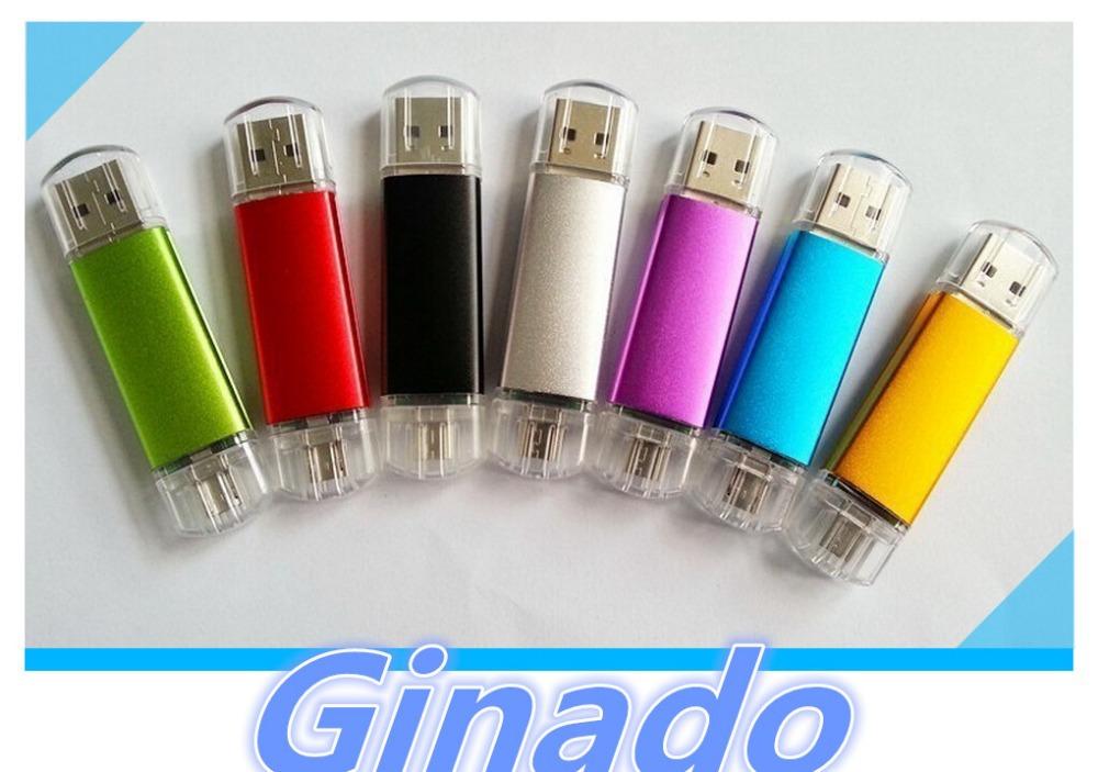 Colorful OTG 8G 16G 32G 64G mobile USB Flash Drive usb Stick Pen drive pendrive smart phone external storage usb memory stick(China (Mainland))