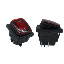 Buy 2pcs/lot 39*29mm DPST 4PIN Snap-in ON/OFF Position Snap Boat Rocker Switch 16A/250V High for $2.21 in AliExpress store