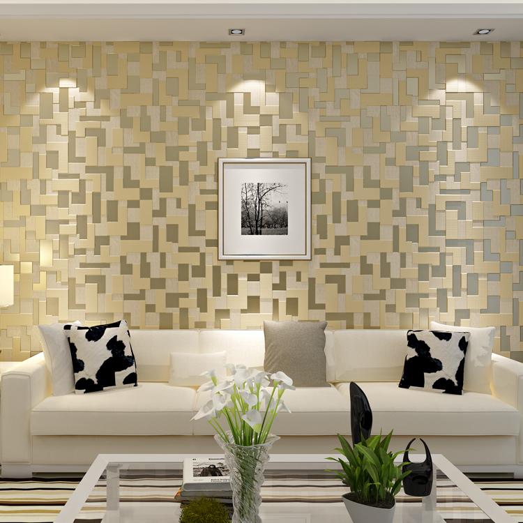 Papel de parede para sala de tv fotos for Sala de estar com papel de parede 3d