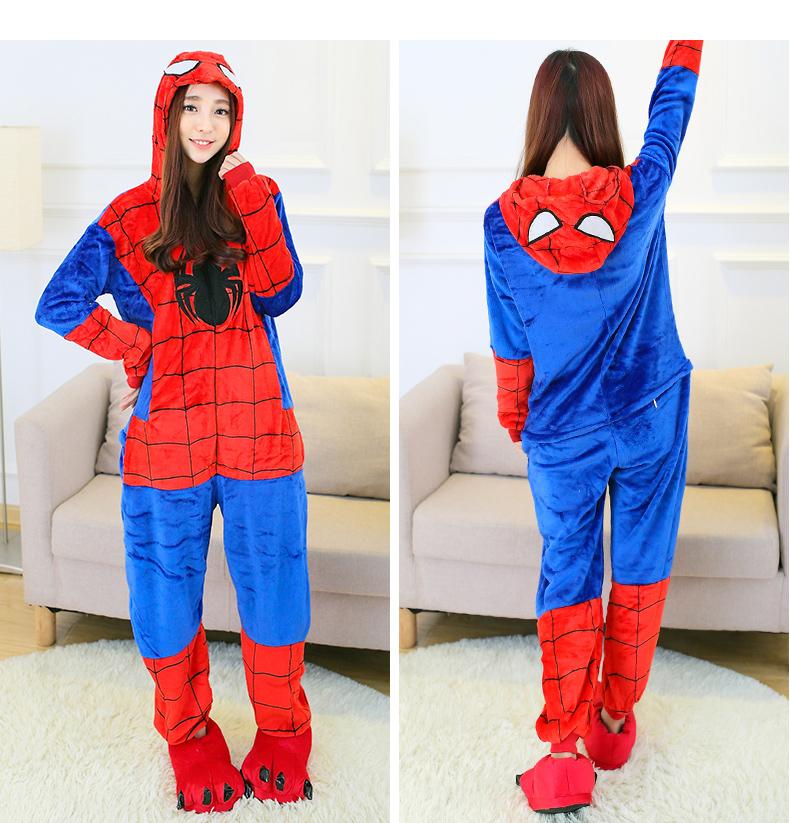 adulte spiderman pyjamas promotion achetez des adulte spiderman pyjamas promotionnels sur. Black Bedroom Furniture Sets. Home Design Ideas