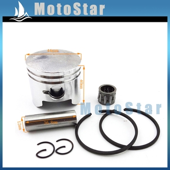 2 Stroke 49cc Minimoto 44mm Piston 12mm Pin For Engine Parts Chinese Pocket Dirt Bike Mini Moto ATV Quad 4 Wheeler