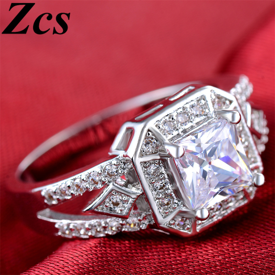 ring thing Picture More Detailed Picture about Zcs Luxury Big Square Simula