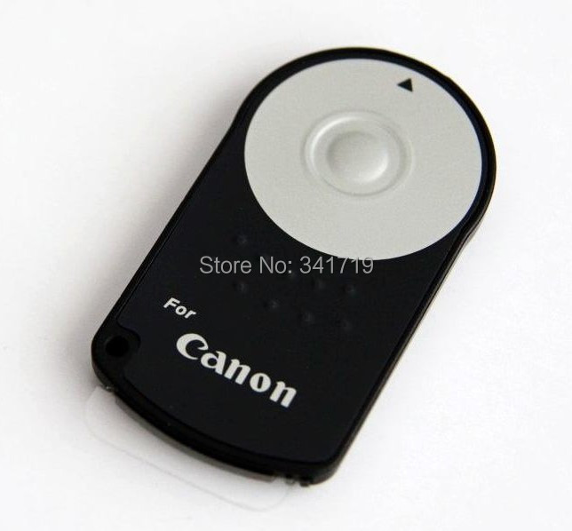 RC-6 RC6 IR Wireless Remote Control For Canon 5D II/7D/550D/500D 60D 600D Free Shipping + Wholesale price(China (Mainland))