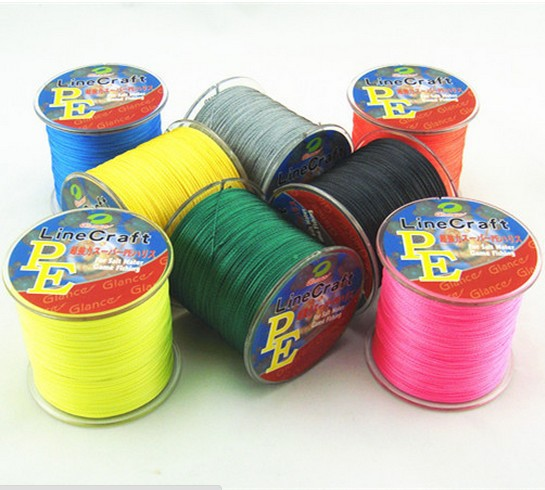 500M Glance PE Brand Super Strong Japanese 500m Multifilament PE Material Braided Fishing Line 10 20 25 30 40 50 60 80 100LB(China (Mainland))
