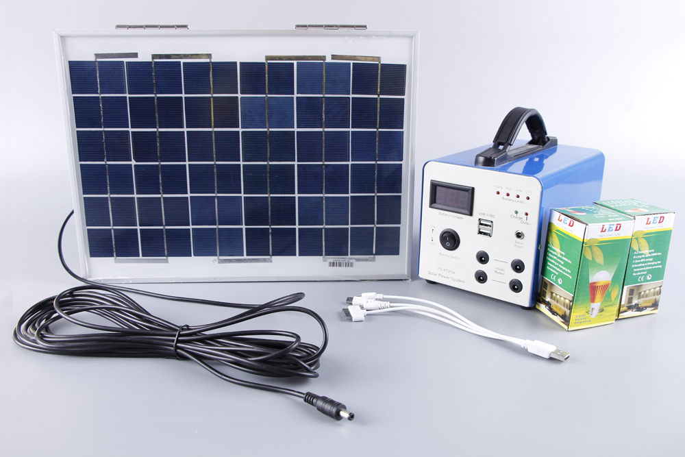 self contained portable solar system -#main