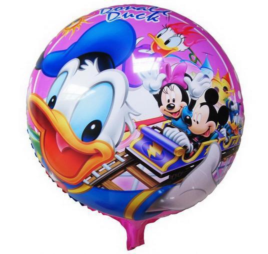 HOT  50pcs lot 45 45cm donald font b duck b font font b balloon b - Bana istedi�im resmi yolla