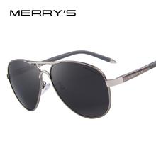MERRY'S Men Classic Brand Sunglasses HD Polarized Aluminum Driving Sun glasses Luxury Shades UV400 S'8513(China (Mainland))