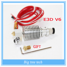E3D V6 Long distance J-head Hotend for 1.75mm/3mm E3D Bowden Extruder 0.2/0.3/0.4/0.5mm Nozzle for RepRap 3D Printer