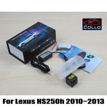 Buy Car Laser Fog Lights Lexus HS250h HS 250h 2010~2013 / Vehicle Rear Tail Collision Warning Lamp / Traffic Crash-Proof Lights for $27.12 in AliExpress store