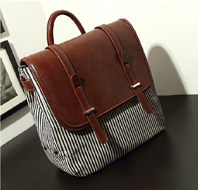 High Quality Free Shipping 2014 New Brand Handsome Navy Striped Protable One Shoulder Messenger Bag Multifunction Bag G495<br><br>Aliexpress