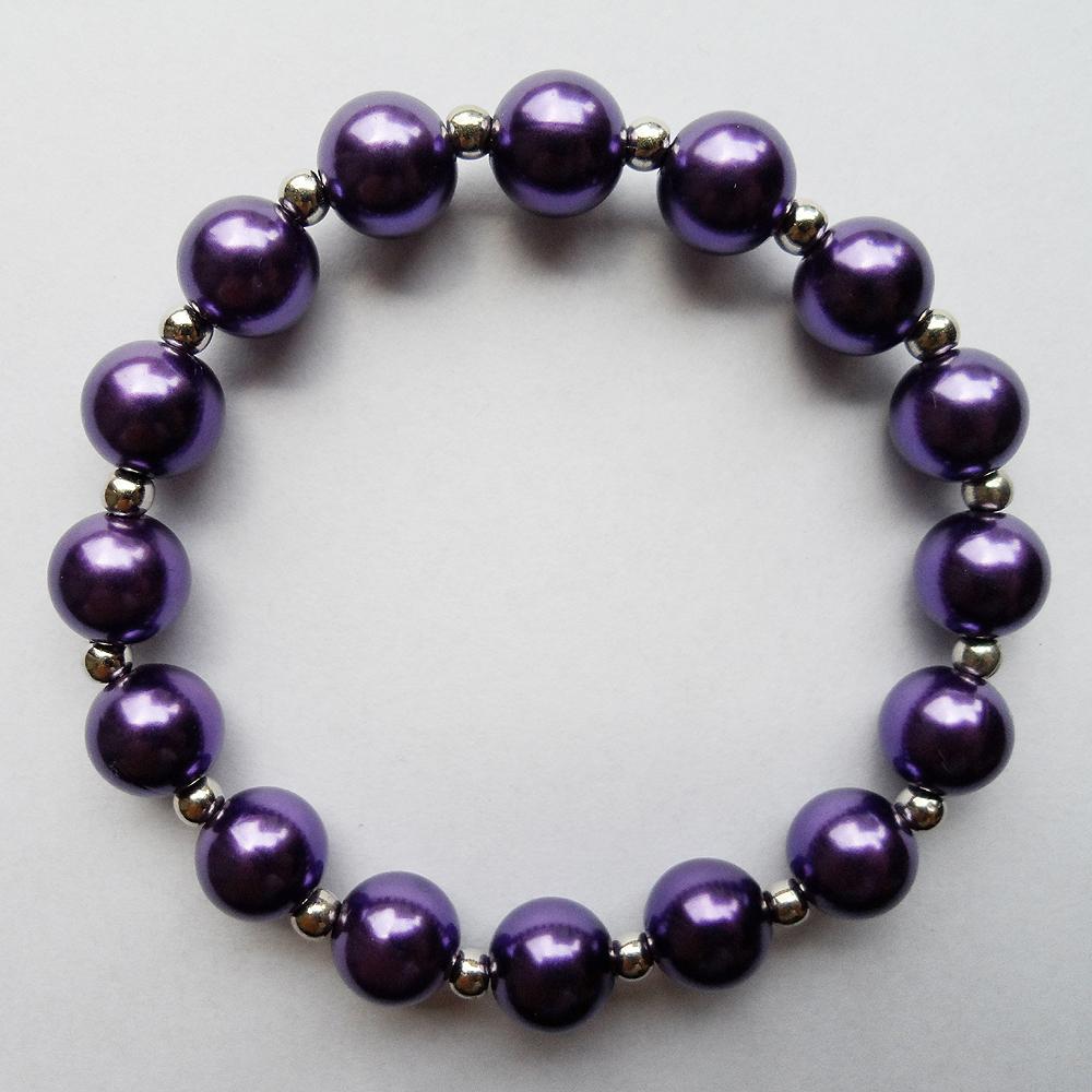 purple bracelet silicone bands rubber