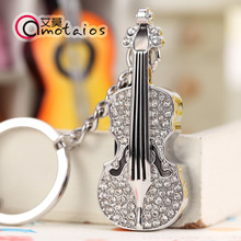 2015 New Fashion 3500 High Speed Violin Crystal 8GB 16GB 32GB Pen Drive Pendrive USB Flash Drive For PC Free Shipping(China (Mainland))