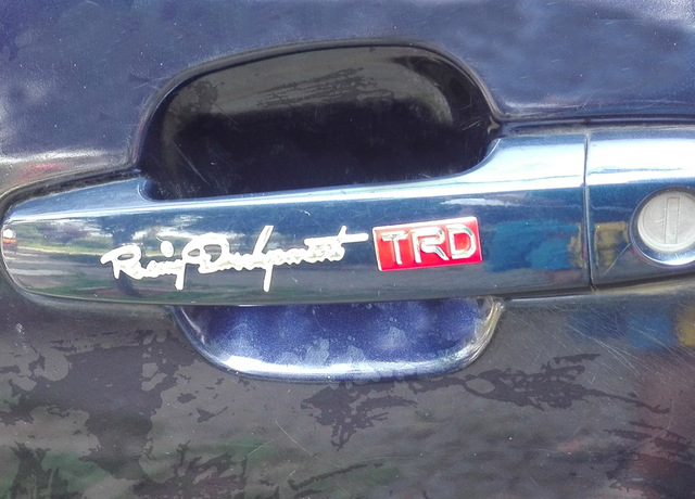 1 pair/lot,TRD 3D PVC Car handle bar sticker,Chrome Badge Emblem Decal, 5 pairs 20% off