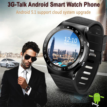 Buy  (In Stock) ZGPAX S99A 3G Smart Watch Android 5.1 2.0MP Cam GPS WiFi Pedometer Heart Rate 3G Smartwatch PK KW88 No.1 D5 X3Plus X5 for $81.90 in AliExpress store