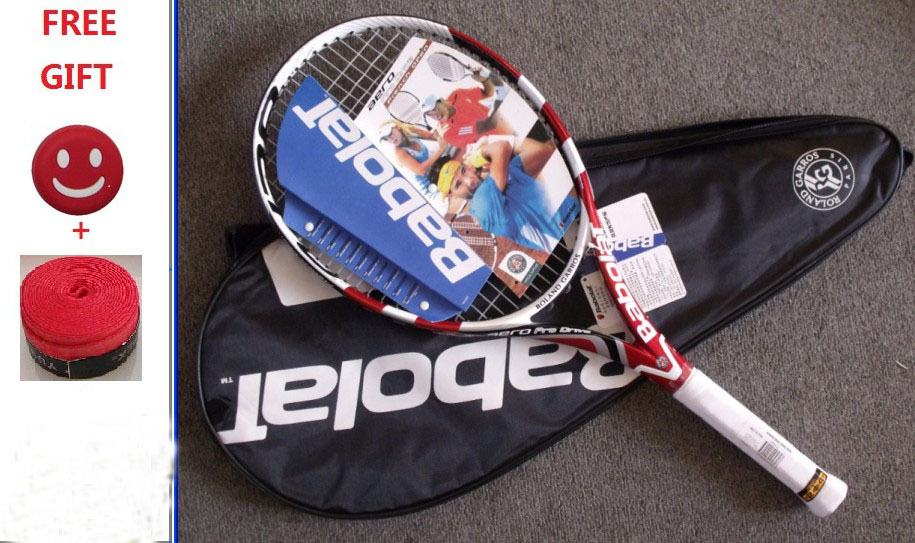 The new 2014 AeroPro Drive Frence open (APD GT open) tennis racket. Free shipping. 41/4 43/8 vibration dampener racket beginner(China (Mainland))