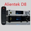 Alientek D8 Full Pure Digital Audio Headphone Amplifier Input USB XMOS Coaxial Optics AUX 80W 2