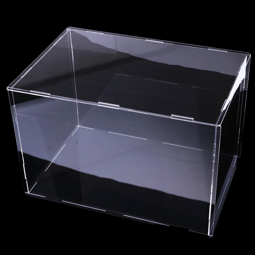 Acrylique jouet Afficher vitrine antipoussière grand outil de protection