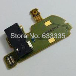 New earphone Headphone Audio Jack connector Flex Cable For Nokia N97 mini Power On Off Flex Free Shipping(China (Mainland))
