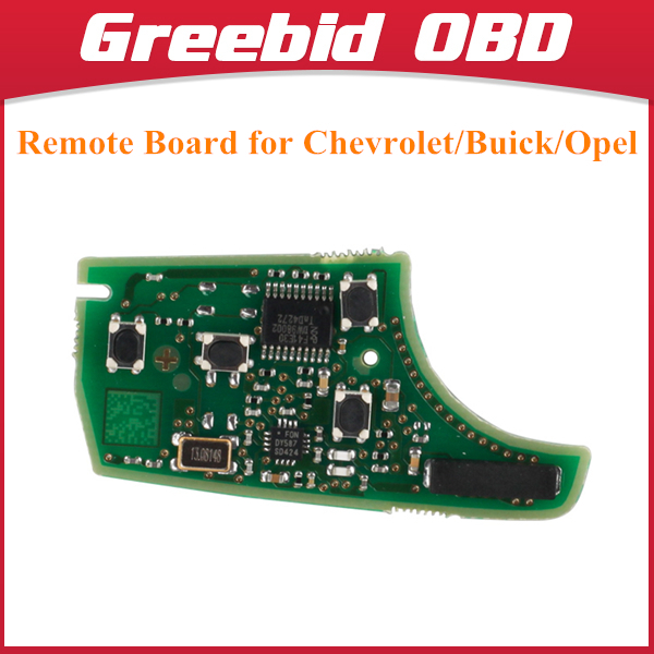 For Chevrolet/Buick/Opel Remote Board 4 Buttons 433MHZ Free Shipping(Hong Kong)