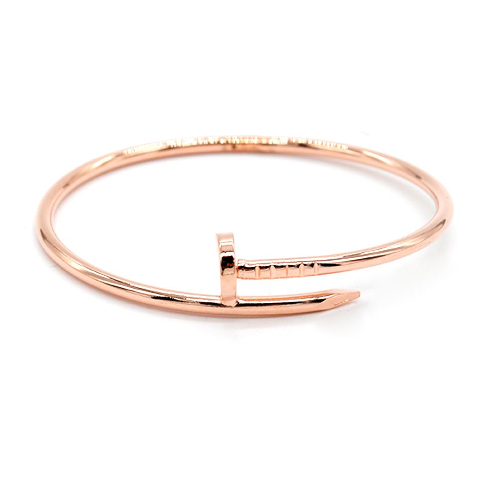 Для женщин браслет обруч для мужчин пара модные ногтевые формы дам и девушек aeProduct.getSubject()